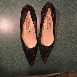 Jimmy choo shoe silk kitten heel pump 6 1/2